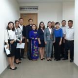 Công ty KyungWoo C&C Hàn Quốc mong muốn thực hiện các hoạt động y tế thiện nguyện tại Bình Dương