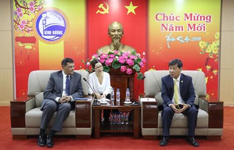 平阳省领导会见世界银行代表