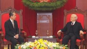 越共中央总书记、国家主席阮富仲会见中国驻越大使