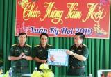 Thượng tướng Nguyễn Trọng Nghĩa: Kiểm tra và chúc tết tại Trung đoàn 3 (Sư đoàn 9)