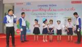 """Sở Giáo dục-Đào tạo phối hợp tổ chức chương trình """"Vui học an toàn giao thông cho nụ cười trẻ thơ"""""""