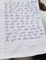 Kẻ cướp mang tiền trả cho nạn nhân kèm thư xin lỗi