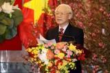 Tổng Bí thư, Chủ tịch nước chúc Tết lãnh đạo, đồng bào và chiến sỹ