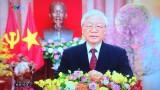 越共中央总书记、国家主席阮富仲发表2019己亥年新年贺词