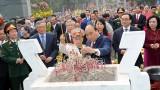 阮春福总理出席玉回-栋多大捷230周年纪念典礼