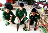 Trung đoàn 250, Sư đoàn 309 (Quân đoàn 4): Chuẩn bị vật chất phục vụ cho nhiệm vụ huấn luyện năm 2019