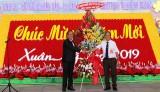 Cộng đồng người Hoa TP.Thủ Dầu Một chúc tết lãnh đạo tỉnh nhân dịp rằm tháng Giêng