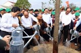 Government leader underlines significance of tree planting