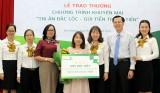 """Vietcombank Bình Dương: Trao giải """"Tri ân đắc lộc, gửi tiền trúng tiền"""""""