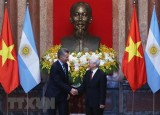 Tổng thống Cộng hòa Argentina kết thúc chuyến thăm tới Việt Nam