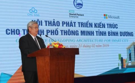 Hội thảo phát triển kiến trúc cho Thành phố thông minh Bình Dương