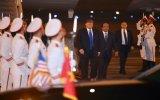 Tổng thống Mỹ Donald Trump đã xuống sân bay Nội Bài