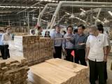 Lãnh đạo tỉnh tiếp và làm việc với Đoàn công tác của UBND tỉnh Nghệ An về hoạt động thu hút đầu tư, chế biến, xuất khẩu gỗ và các sản phẩm từ gỗ