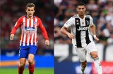 Uefa Champions League, Juventus - Atletico Madrid: Ronaldo đối đầu Griezmann