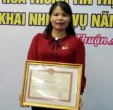 Chị Nguyễn Thị Tố Trinh: Đóng góp tích cực cho sự nghiệp giáo dục và thể thao