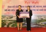 Hội LHPN tỉnh tổ chức hội nghị trao đổi về hỗ trợ khởi nghiệp