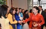 Chủ tịch Quốc hội gặp mặt cộng đồng người Việt Nam tại Vương quốc Bỉ