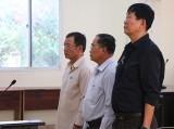 Nguyên Giám đốc Sở Địa chính tỉnh cùng các đồng phạm hầu tòa