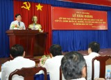 Khai giảng lớp đào tạo nguồn cán bộ lãnh đạo, quản lý chủ chốt cấp ủy, chính quyền cơ sở