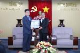 Lãnh đạo tỉnh tiếp Tân Chủ tịch Chi hội doanh nghiệp đầu tư Hàn Quốc tỉnh Bình Dương