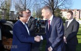 Thủ tướng Séc chủ trì lễ đón chính thức Thủ tướng Nguyễn Xuân Phúc