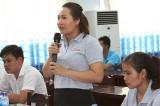 Lãnh đạo huyện Bàu Bàng đối thoại với công nhân lao động