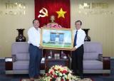 Lãnh đạo tỉnh tiếp đoàn công tác tỉnh Bình Thuận