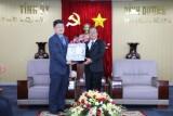 平阳省领导会见韩国贸易和工业协会平阳省分会新任主席