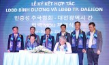 Bình Dương và thành phố Daejeon (Hàn Quốc) ký kết hợp tác phát triển bóng đá