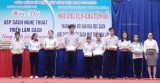 Trường THPT Nguyễn Trãi (TX.Thuận An): Thi xếp sách nghệ thuật, nói chuyện chuyên đề Thanh niên với văn hóa đọc