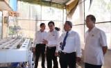 Ban Văn hóa-Xã hội HĐNĐ tỉnh làm việc với trường Trung cấp Nông lâm nghiệp Bình Dương