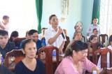 Đại biểu Quốc hội tỉnh tiếp xúc cử tri xã Hội Nghĩa (TX.Tân Uyên) và xã Vĩnh Hòa (Phú Giáo)