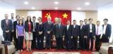 Phó Chủ tịch UBND tỉnh Đặng Minh Hưng tiếp lãnh đạo tỉnh Brabant Wollon (vương quốc Bỉ)