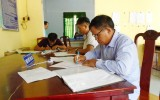 Xã An Bình, huyện Phú Giáo: Tỷ lệ giải quyết hồ sơ đúng hẹn đạt 100%
