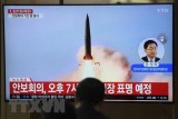 Triều Tiên lại phóng một số vật thể bay chưa xác định