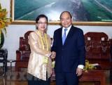 Thủ tướng Nguyễn Xuân Phúc tiếp Phó Tổng Thư ký Liên hợp quốc