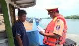 Chủ động tuần tra bảo đảm an toàn giao thông đường thủy