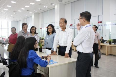 Đoàn giám sát HĐND tỉnh: Giám sát việc thực hiện kế hoạch cải cách hành chính giai đoạn 2016-2020 tạiTrung tâm Hành chính tỉnh