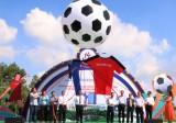168 đội bóng so tài Giải bóng đá thành phố mới Bình Dương lần thứ XIV