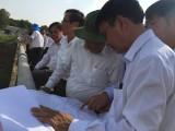 Lãnh đạo UBND tỉnh kiểm tra tình hình thực hiện dự án bệnh viện và một số công trình khác