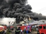 Không có thiệt hại về người trong vụ cháy công ty sản xuất băng keo