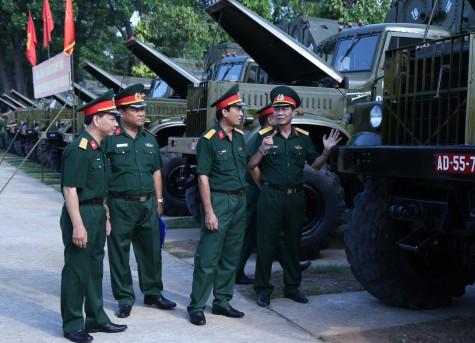 Lữ đoàn 550: Nâng cấp đạt tiêu chuẩn 13 xe quân sự