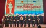 """""""越南老兵示范性落实和动员人民维护交通秩序安全""""运动启动仪式"""