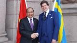 越南政府总理阮春福会见瑞典议会议长