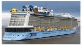 载有5700多名游客的美国皇家加勒比邮轮抵达越南