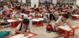 Over 800 kid painters join the 10th kid painting contest of Thuan An Town