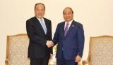 越南政府总理阮春福会见中国云南省省长