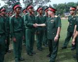 Quân đoàn 4: Các đơn vị trực thuộc tổ chức tuyên thệ chiến sĩ mới năm 2019