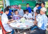 """Câu lạc bộ Thầy thuốc trẻ huyện Bàu Bàng: Tổ chức 19 """"Chuyến xe nhân ái - vì sức khỏe cộng đồng"""""""