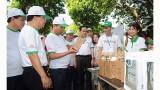 越南政府总理阮春福出席全国反塑料垃圾运动启动仪式